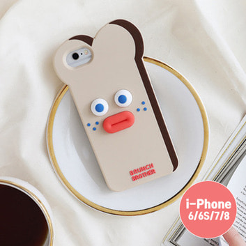 Brunch Brother 실리콘 케이스 for iPhone 6/6S/7/8