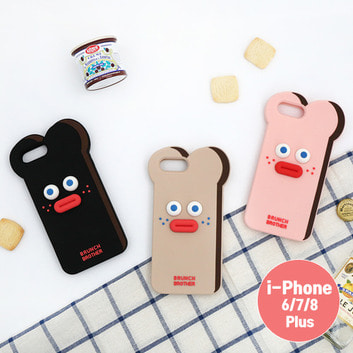 Brunch Brother 실리콘 케이스 for iPhone 6/7/8 Plus